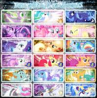 Friendship is Magic Tag Wall 3