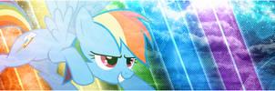 [Banner] Rainbow Dash's Anticipation by Paradigm-Zero