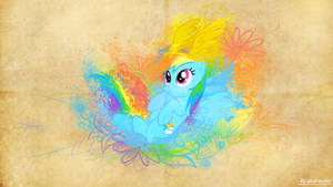 Parchment Splash | Rainbow