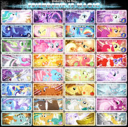 Friendship is Magic Tag Wall 5
