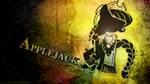 Monochrome Grunge | Applejack by Paradigm-Zero