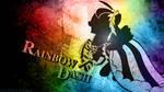 Monochrome Grunge | Rainbow