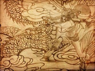 Heavenly Sword - Nariko by Paradigm-Zero