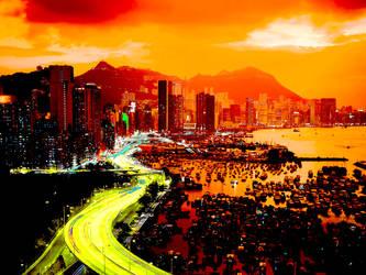 Orangecity by B-In-F