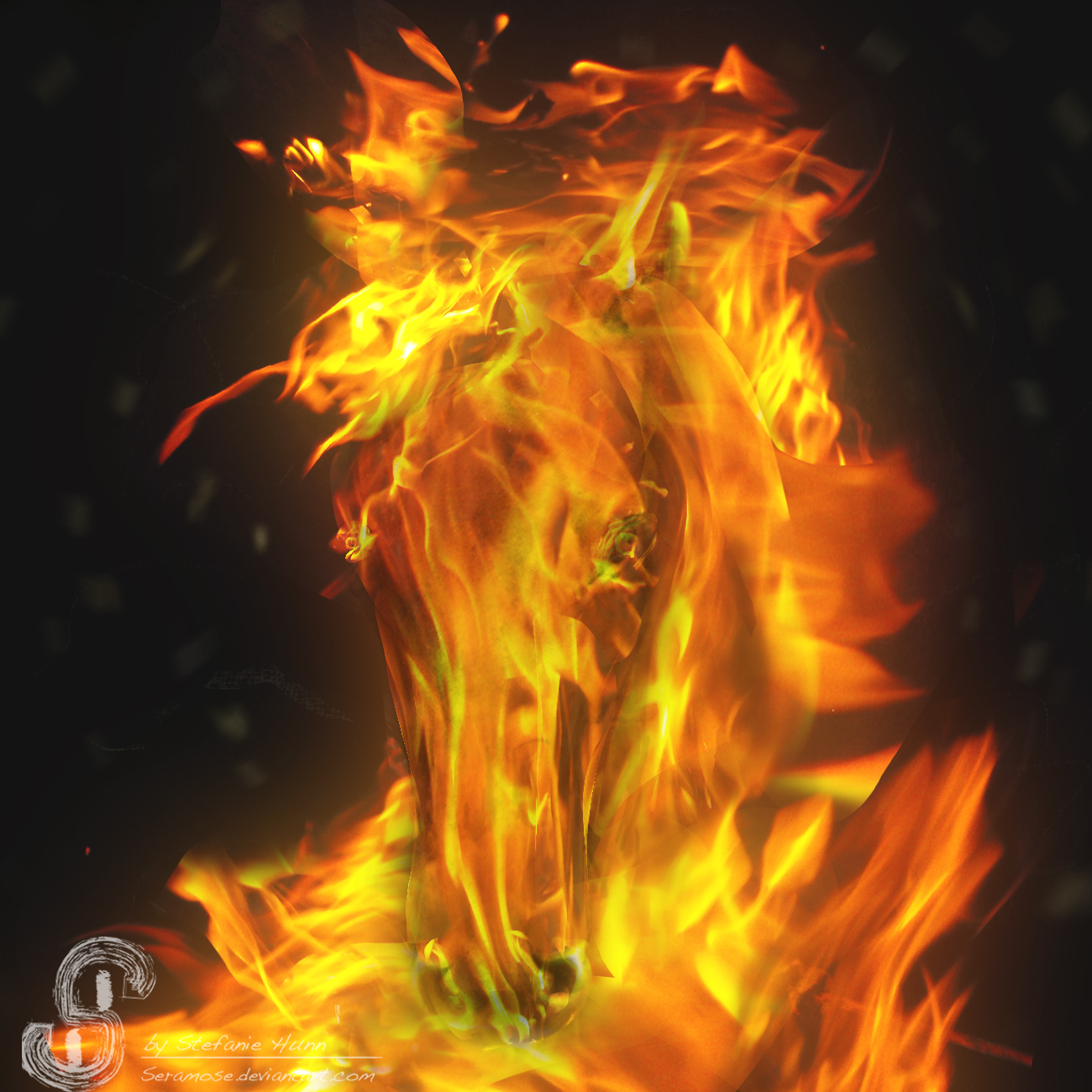 Fireyhorse by Seramose