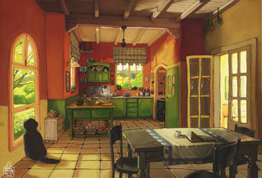 Kitchen by Awesome-Deviant-Name