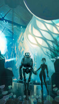 bad sci fi book cover