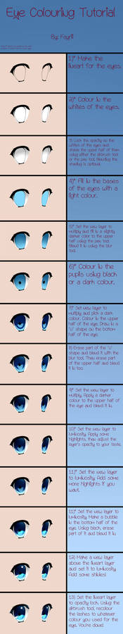 Eye Colouring Tutorial in SAI