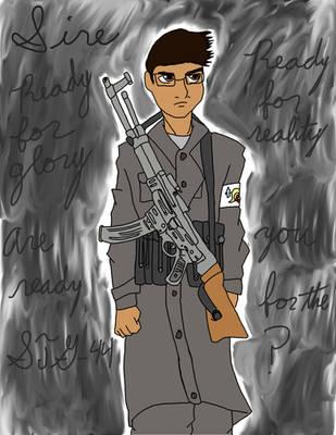 Sire's New Weapon: STG-44 by SebastiansSire