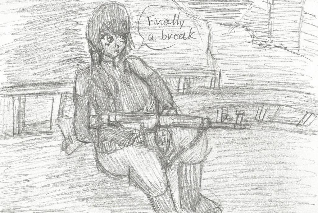 Angel Falls: A Break by SebastiansSire