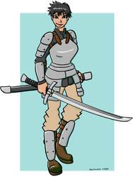 The Fantasy Swordswoman tg