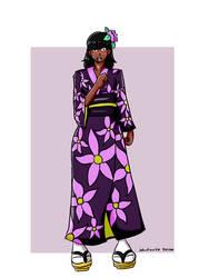 Commission: Jason in the Kimono tg