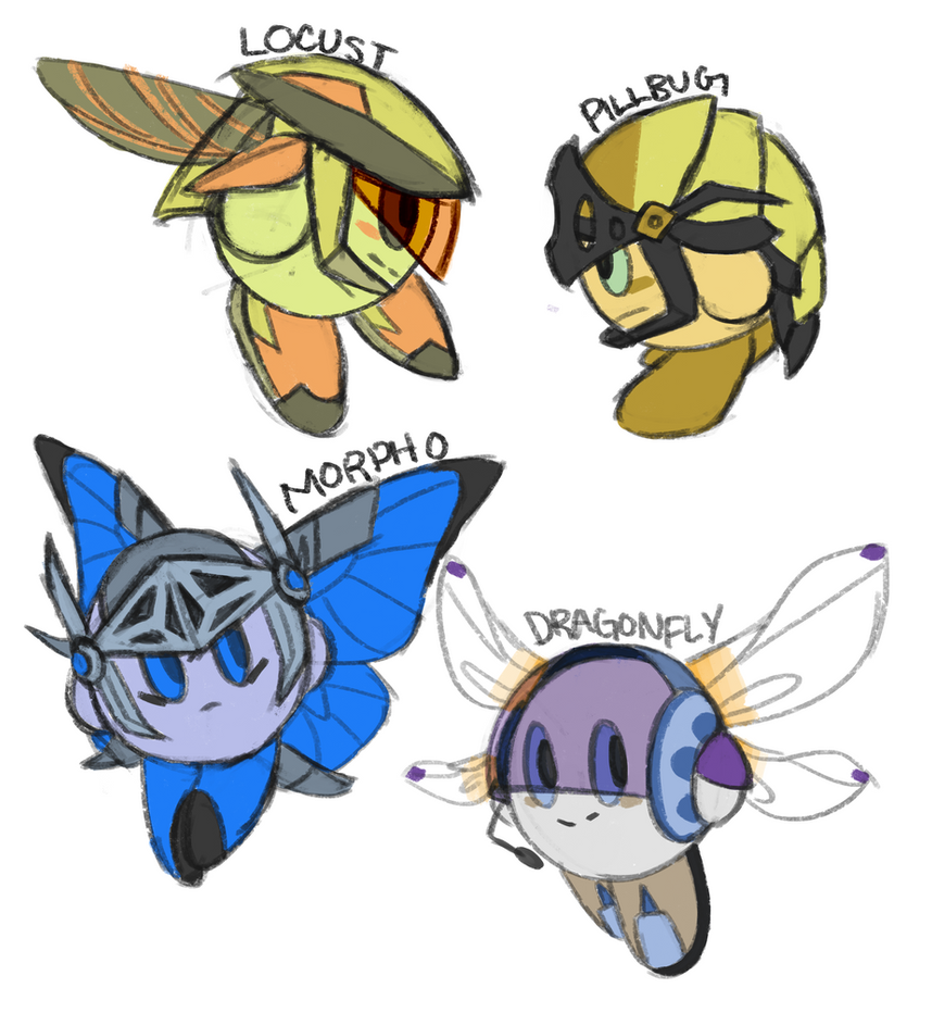 Insect Knights 4 by DrakynRoll