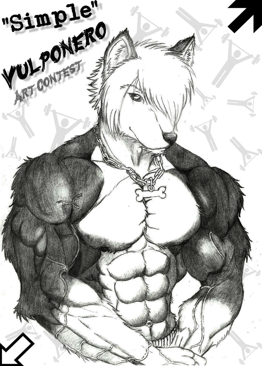 Simple Muscle by RudeWolf-Ryoga