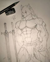 Sketch 1 - Warrior