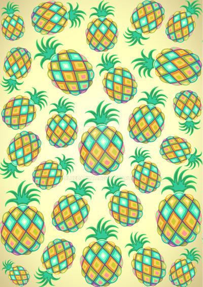 Pineapple Pastel Colors Pattern by Bluedarkat