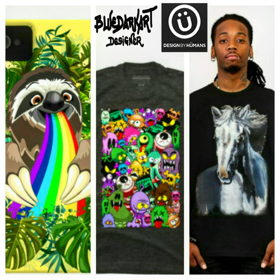 Designs I recently added on my DBH Shop by Bluedarkat