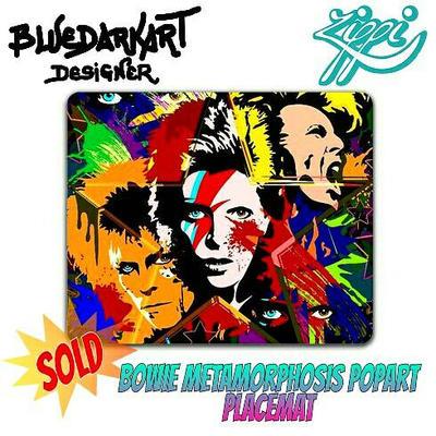 Bowie PopArt Metamorphosis by BluedarkArt by Bluedarkat