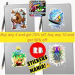 Stickers Mania!