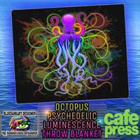 Octopus Psychelic Luminescence  by BluedarkArt by Bluedarkat
