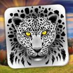 White Leopard stickers - design by BluedarkArt