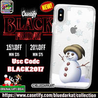 Snowman Magic iPhone case by BluedarkArt by Bluedarkat