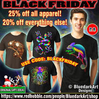 Black Friday Sale! on BluedarkArt's Redbubble Shop by Bluedarkat