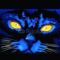 Cats illustrations  Bluedarkart by Bluedarkat
