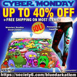 Sales on BluedarkArt's Society6 Shop