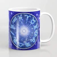 Zodiac Signs Mugs by BluedarkArt   by Bluedarkat
