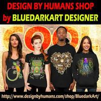 BluedarkArt's DesignByHumans Shop  by Bluedarkat