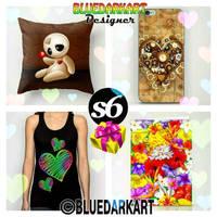 LoveGifts  Valentine's Day  by BluedarkArt by Bluedarkat