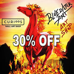 30% off  BluedarkArt's Curioos Gallery by Bluedarkat