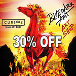 30% off  BluedarkArt's Curioos Gallery