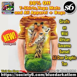 Giraffe Lovers Tees! NEW Design on Shop!