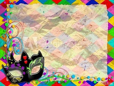 Harlequin Mask Digital Art by BluedarkArt