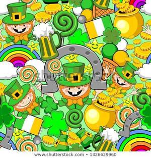 St Patrick's Day Doodles by BluedarkArt