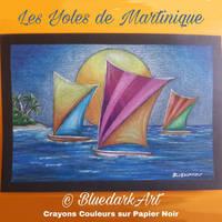 Yoles de Martinique  Copyright BluedarkArt