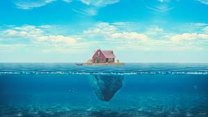 House On the Ocean by KyanArtz