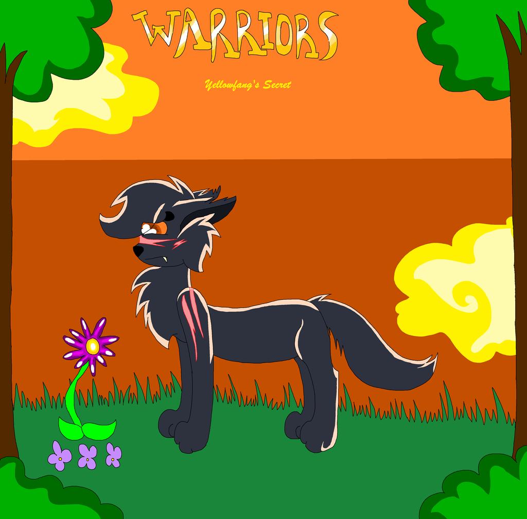 .:Warriors- Yellowfang's Secret Comic Cover:. By Siyamese