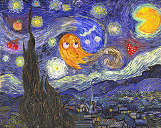 Starry Night at the Arcade