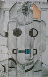 Cybermen Throughout the Years by Iven-Furrpaw
