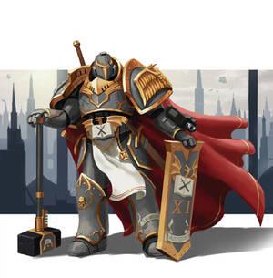 Primarch Of the eleventh adeptus astartes Legion
