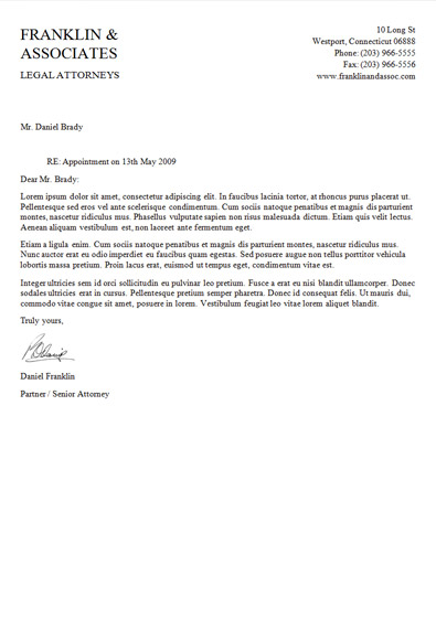 Attorney Letterhead Template by danbradster on DeviantArt