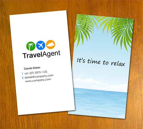 Travel agent business card by danbradster on deviantart travel agent business card by danbradster wajeb Choice Image