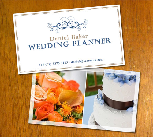 Wedding Planner Business Card by danbradster