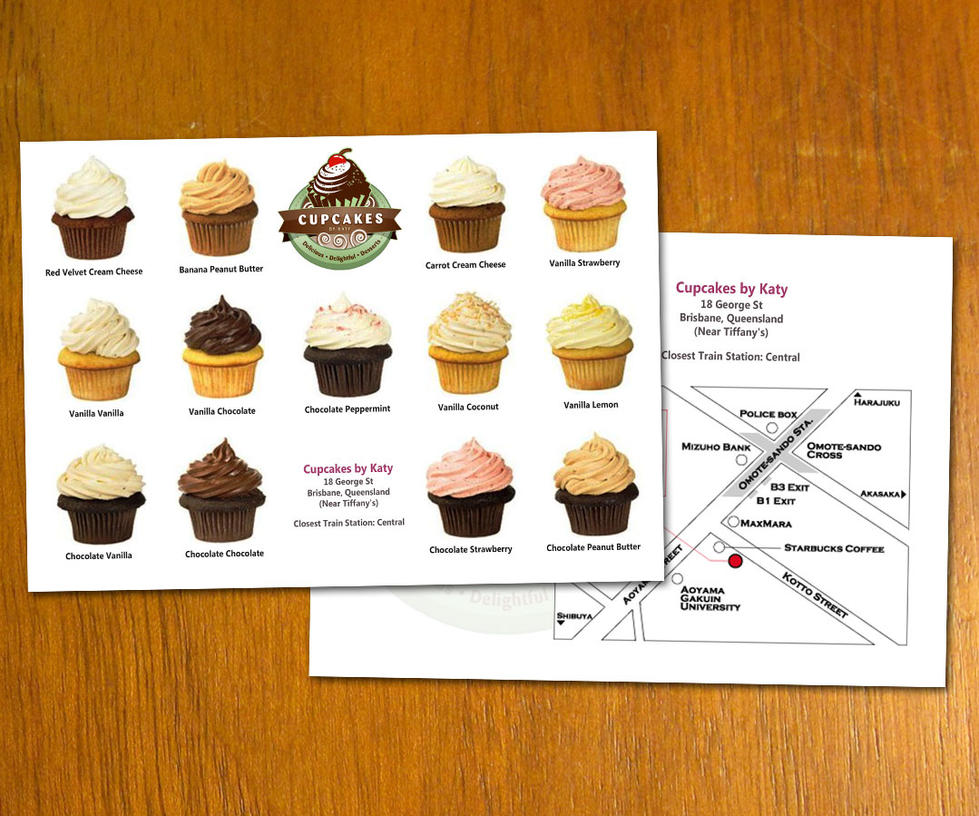 cupcakes flyer template by danbradster on deviantart