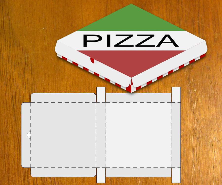 Blank Pizza Box Template By Danbradster On DeviantArt