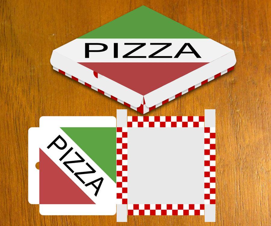 DeviantArt: More Like Pizza Box design by danbradster