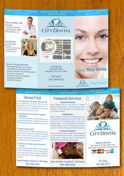 Dentist and Dental Brochure Template